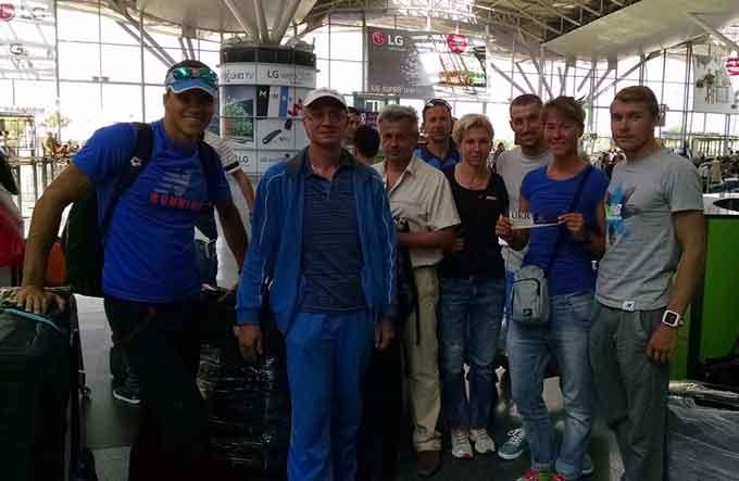 Черкаські спортсмени вирушили в Баку на перші Європейські ігри