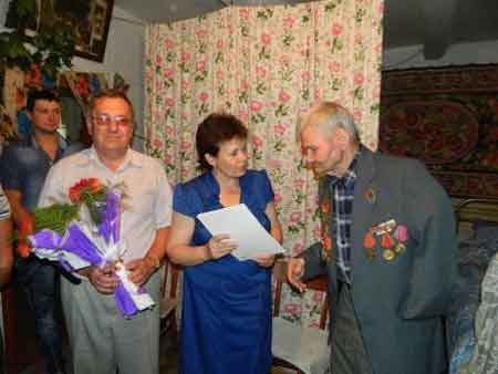 На Шполянщині два жителі відзначили 95-річчя