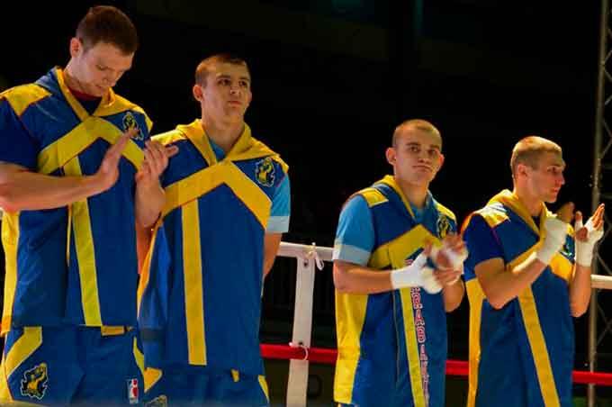 Завтра збірна України боксуватиме на черкаському пляжі