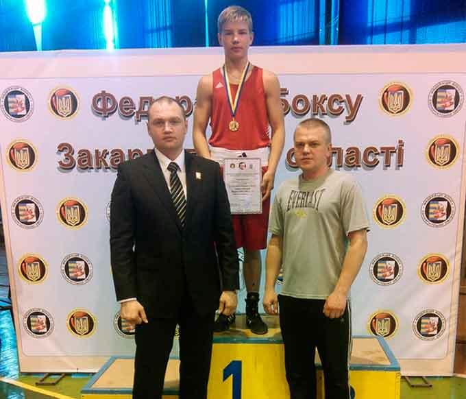 Черкасець – призер чемпіонату України з боксу