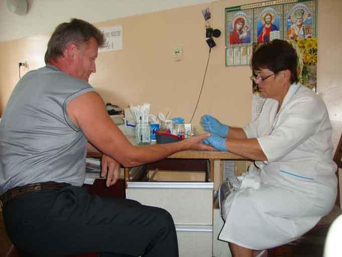 У Чорнобаївській ЦРЛ відбувся забір крові для бійців АТО