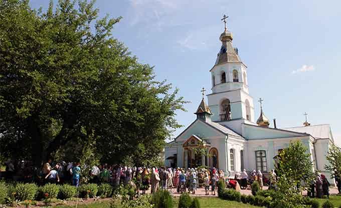 У Свято-Онуфріївському чоловічому монастирі відбулися урочистості на честь небесного покровителя обителі