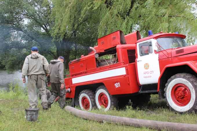 Як в Черкаській області рятувальники ліквідовували наслідки стихії