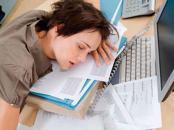 сон на робочому місці