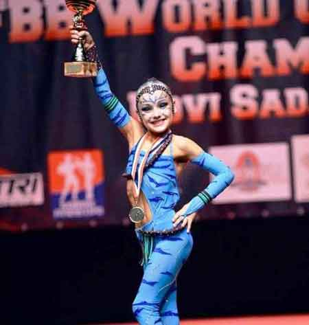 Черкащанка стала чемпіонкою світу з фітнесу серед дітей
