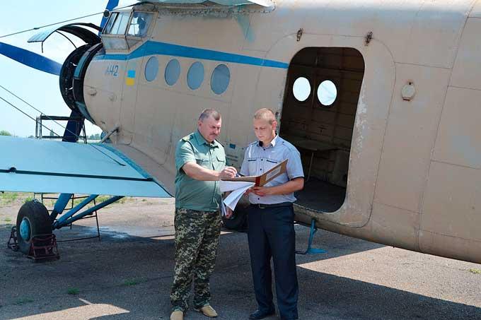 Ліси Черкащини патрулює літак АН-2