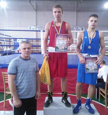 Черкащанин Дмитро Майдаков став чемпіоном України з боксу