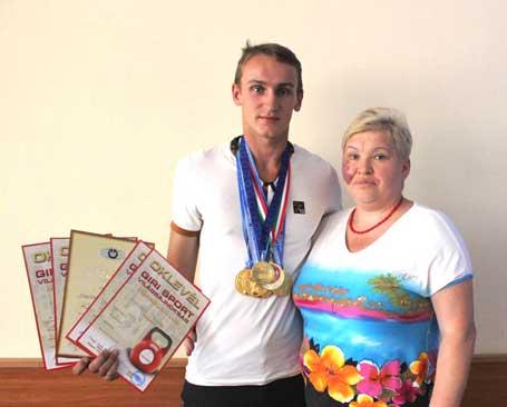 Черкащанин став чемпіоном світу з гирьового спорту