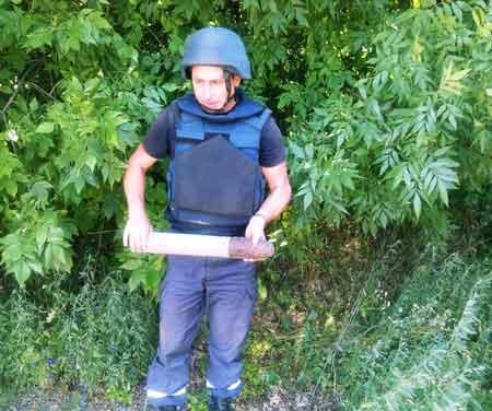 Опасный урожай: за сутки в области найдено 58 взрывоопасных предметов