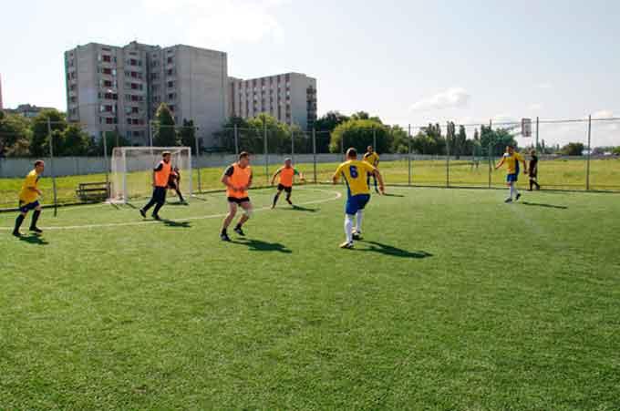 Праздник футбола для черкасских правоохранителей
