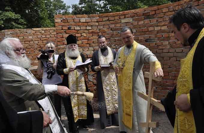Відбулося закладення ще одного православного храму