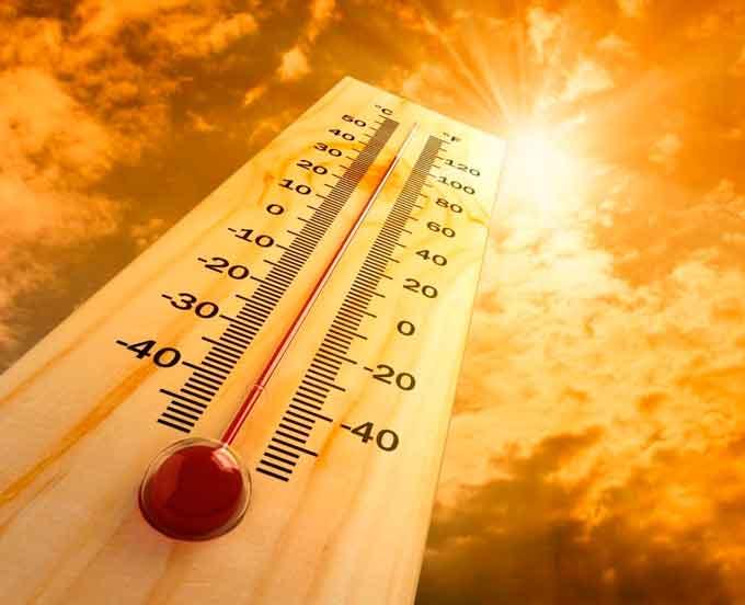 адская жара