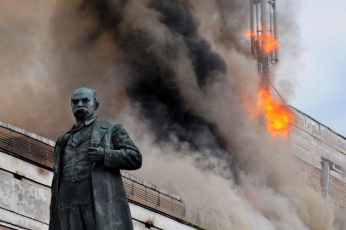 Черкаський театр все ж таки точно підпалили