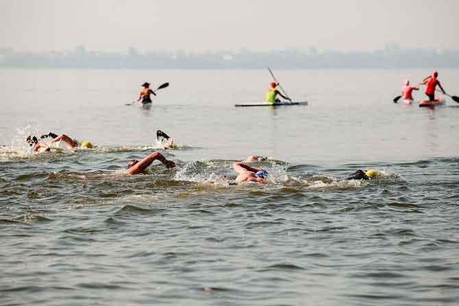 В Черкассах состоится международный заплыв через Днепр