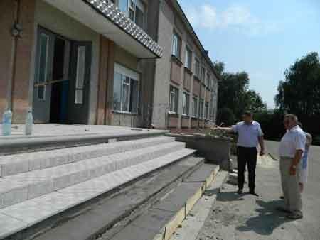 На Шполянщині продовжується перевірка готовності освітніх закладів до нового навчального року