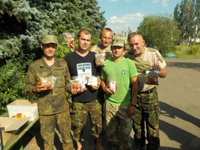 Маньківські волонтери відвідали зону АТО