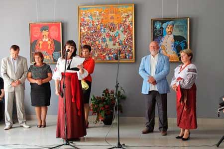 У Черкасах відкрили галерею народного мистецтва