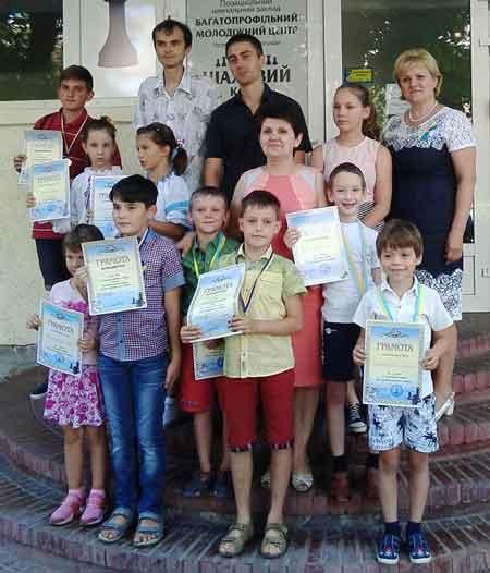 В День Незалежності у Черкасах відбувся дитячий шаховий турнір