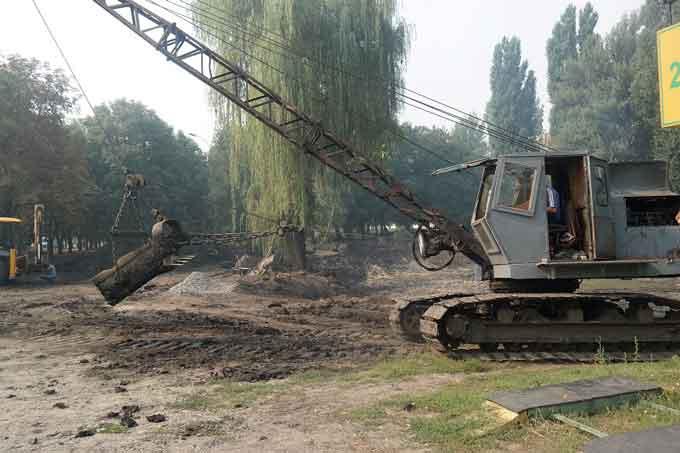 Депутат перед виборами знищив «озеро Ріца»