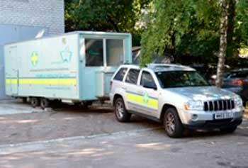 Благодійники з Великобританії подарували Черкащині ще одну пересувну стоматологічну амбулаторію