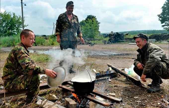 Бійцям 72-ої бригади бракує продуктів харчування