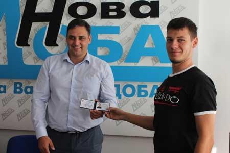 Черкаському каратисту присвоїли звання «Заслужений майстер спорту України»