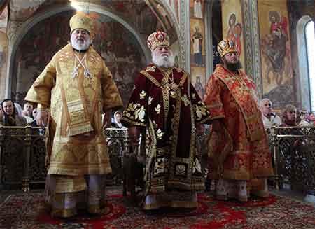 У кафедральному соборі урочисто відзначили пам'ять небесного покровителя Черкащини – святого преподобномученика Макарія