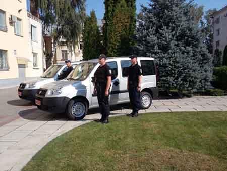 В автопарку черкаських правоохоронців – поповнення