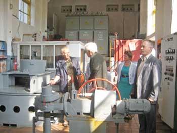 На Тальнівщині Посол Киргизької Республіки ознайомився з роботою електростанцій