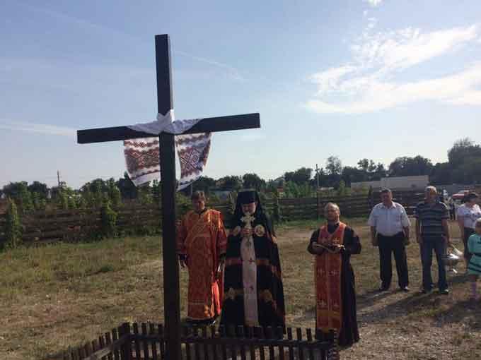Золотоніські греко-католики розпочинають будівництво храму