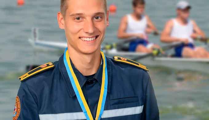 Курсант ЧІПБ – бронзовий призер командного Чемпіонату України з греблі