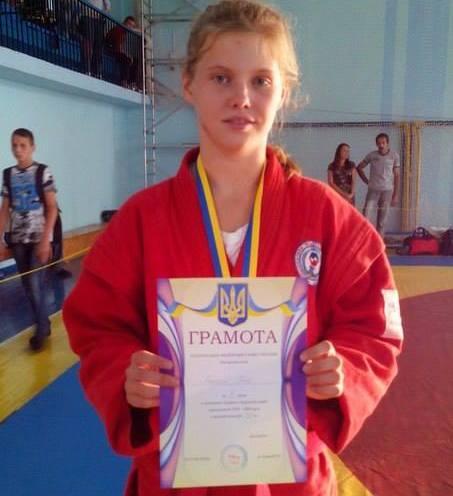 Черкаська самбістка здобула срібло чемпіонату України