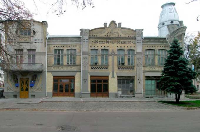 Здание бывшего Общественного банка в Черкассах