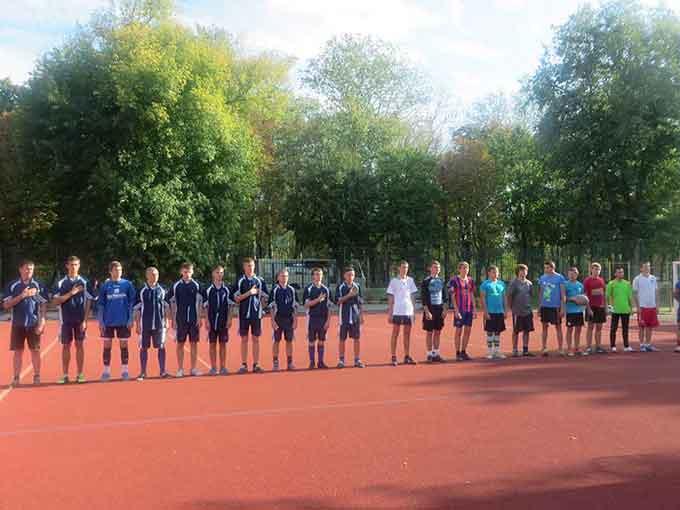 У Черкасах відбулося урочисте відкриття чемпіонату міста з міні-футболу серед професійних навчальних закладів