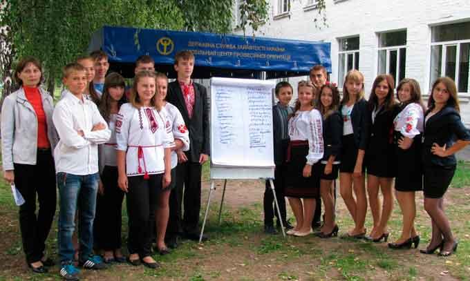 Виїзна зустріч з учнями Хацьківської та Степанківської шкіл – «Вибір професії»