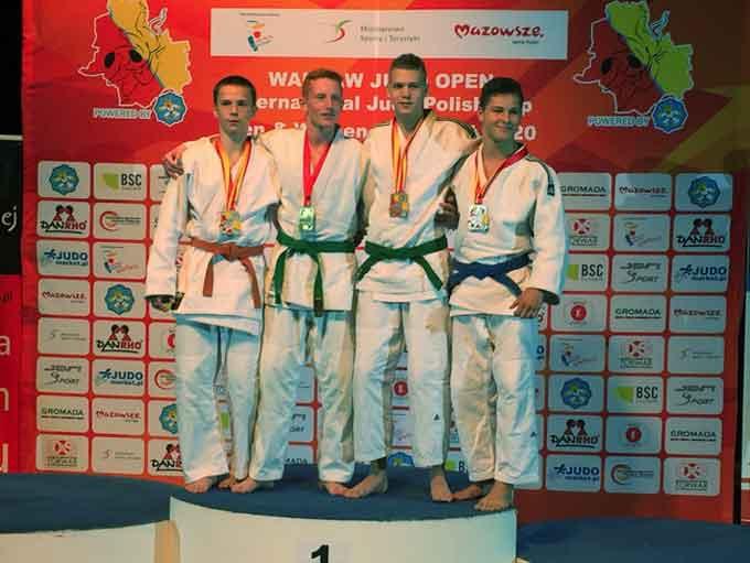Черкаські дзюдоїсти привезли дві медалі з Варшави