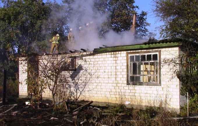 В Черкаському районі рятувальники ліквідували пожежу в житловому будинку (відео)