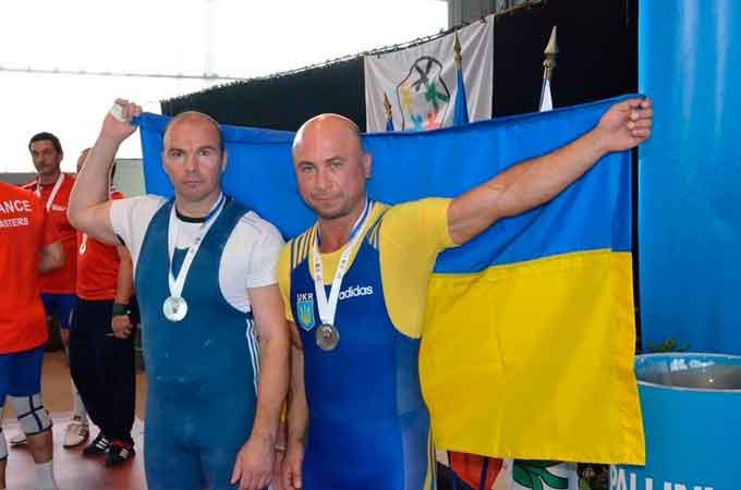 Черкащанин виборов «срібло» на Європейських іграх ветеранів