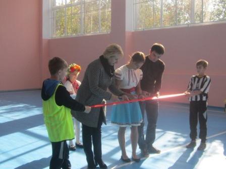 В Катеринопілі відкрили спортивну залу