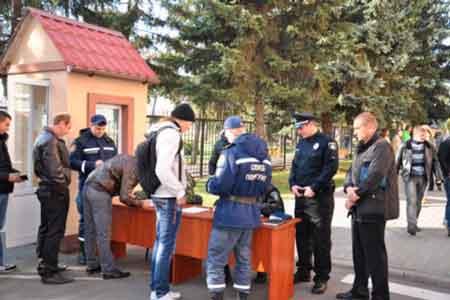 Кандидати в нову поліцію Черкас проходять тестування (відео)