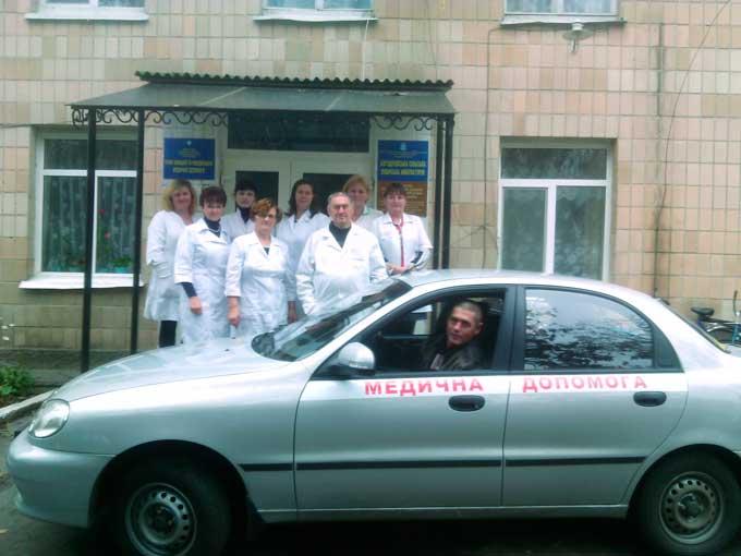 Богодухівська сільська амбулаторія поповнилась новеньким автомобілем