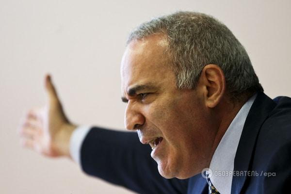 Каспаров объяснил, почему Путин остановился на Донбассе: это передышка