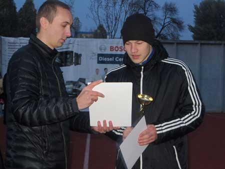 У Черкасах відбувся чемпіонат міста з міні-футболу серед професійних навчальних закладів