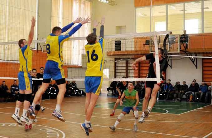 Черкаськы волейболісти стали призерами всеукраїнського турніру