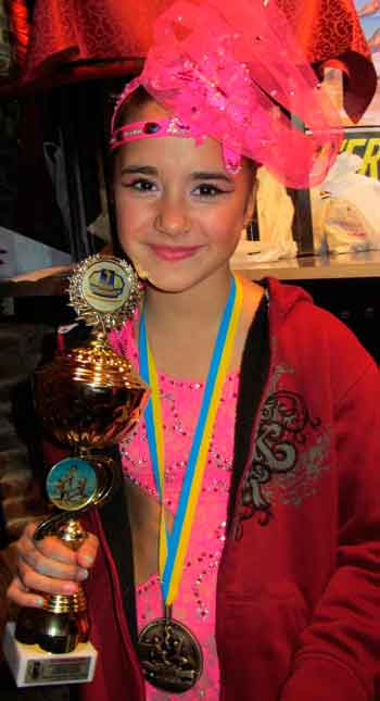 Юна танцівниця з Черкас виборола