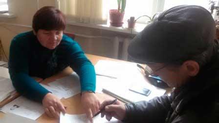 Громадські роботи в управлінні соціального захисту населення Жашківської РДА
