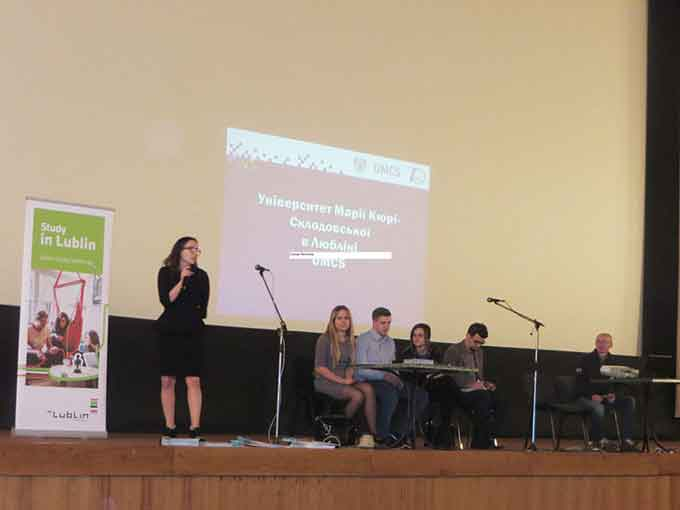 Вузи Любліна запрошують випускників черкаських шкіл
