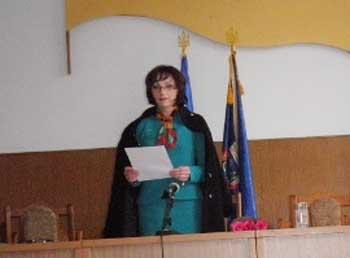 Головою Тальнівської районної ради обрали представницю радикалів