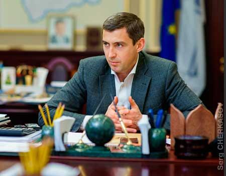 Голова Черкаської обласної державної адміністрації Юрій Ткаченко