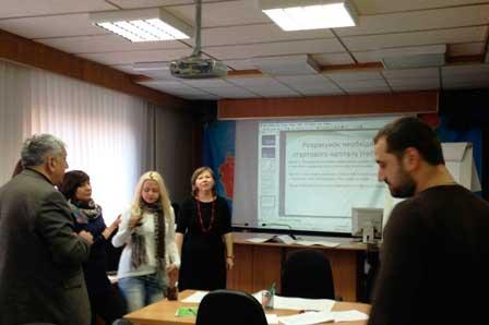 В Черкаському ОЦЗ проведено навчальний тренінг «Розпочни свій бізнес»